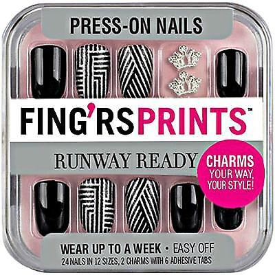 Fing'rs Prints Runway Ready Press-On Nails, STYLE ICON 31052