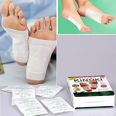 10X Herbal Detox Foot Pads Patch Detoxify Toxin Adhesive Keeping Fit Health Care