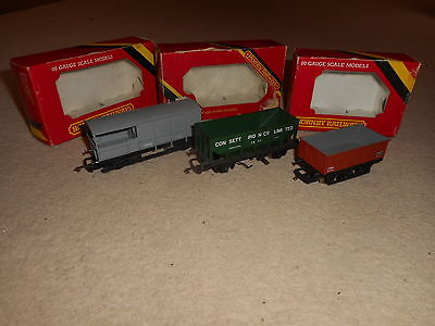 Collection of Wagons for Hornby OO Gauge Train Sets