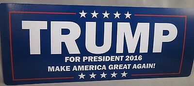 WHOLESALE LOT OF 20 TRUMP MAGNET sticker MAKE AMERICA GREAT AGAIN PRESIDENT 2016