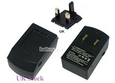 UK Battery Charger for NIKON MH-66 Coolpix S3100 S3200 S3300 S3400 S100