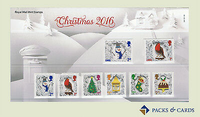 2016 Christmas stamps in Presentation Pack PP507 (no. 534) - Royal Mail Stamps