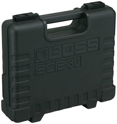 Boss BCB30 Boss Compact Case For Three Pedals (NEW)