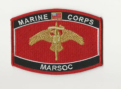Usmc Cap Patch - Marsoc (Marine Corps Special Opertations Command)