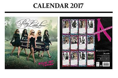 Pretty Little Liars Official Calendar 2017 + Pretty Little Liars Fridge Magnet