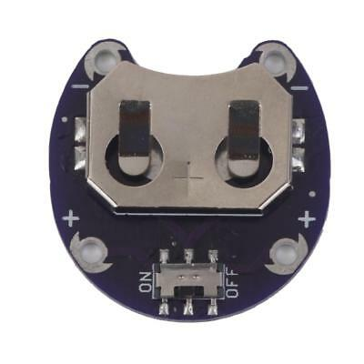 CR2032 Coin Cell Battery Holder Module compatible with Arduino LilyPad