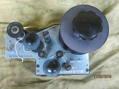 Christie / Kelmar FC-1 70mm Film Cleaner Good used condition