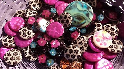 PACK OF 10 ASSORTED COIN SHELL BEADS-Gorgeous colours
