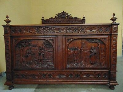 Stunning hand carved Suite  C1900 (AW152/3/4/5)