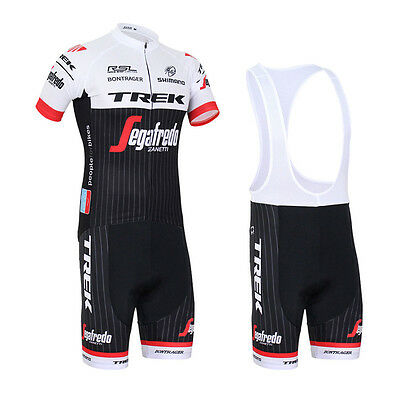 New Fashion Mens Sports Bike Cycling Jersey Bib Shorts Suits Bicycle Clothing