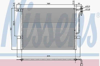 New Oe Quality Nissens Bmw E46 3 Series 97  Ac Condenser - 94431