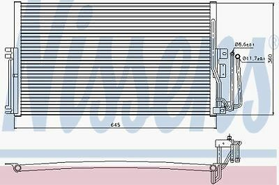 New Oe Quality Nissens Vectra B - Ac Condenser - 94234