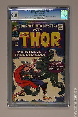 Thor (1962-1996 1st Series Journey Into Mystery) #118 CGC 9.0 (0966255012)