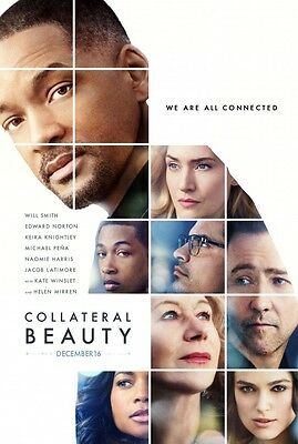 Collateral Beauty - original DS movie poster - 27x40 D/S 2016 Advance Will Smith