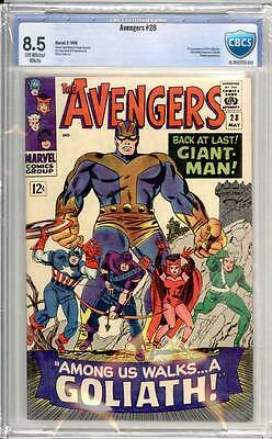 Avengers # 28  1st appearance of the Collector !  CBCS 8.5 scarce book !