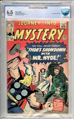 Journey into Mystery # 100  Showdown with Mister Hyde !  CBCS 6.5 scarce book !