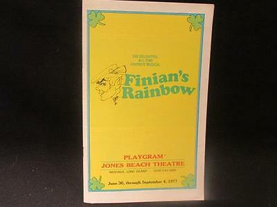 Finian's Rainbow Jones Beach Theater Guy Lombardo Production 1977 Playgram