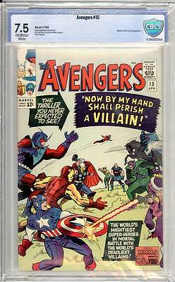 Avengers # 15  Now by my Hand shall Perish a Villian !  CBCS 7.5 scarce book !
