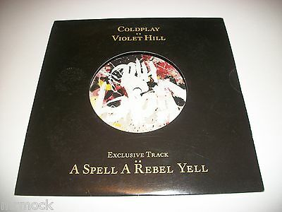 """Coldplay- Violet Hill Vinyl 7"""" 45Rpm Ps Sealed Last Copies In Stock"""