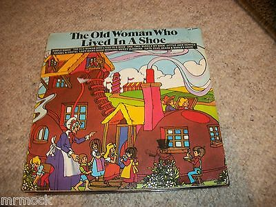 "The Old Woman Who Lived In A Shoe Vinyl 7"" 45Rpm Ps"