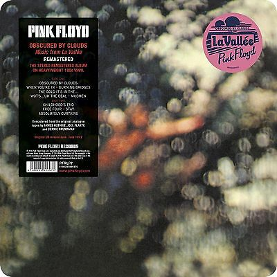 Pink Floyd Obscured By Clouds 180 Gram Vinyl Lp 'Stereo Remaster' New And Sealed