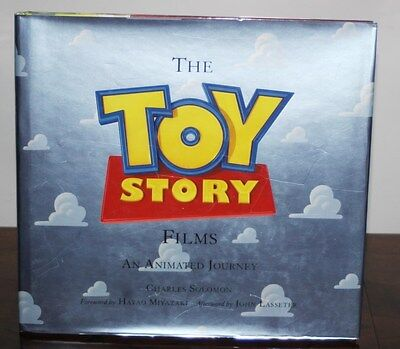 Toy Story Films An Animated Journey by Charles Solomon (Hardback)<9781423144946