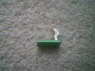 Subbuteo Cricket - 1 Light Blue Capped  Wicketkeeper Figure