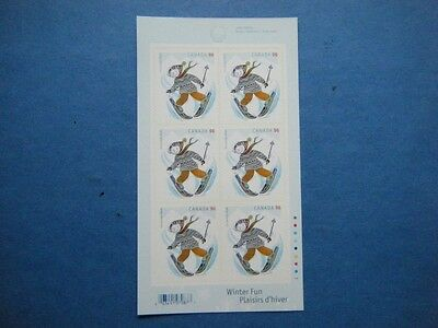 Canada#2294a MNH Booklet Pane Lot#A35