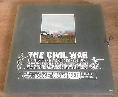 THE CIVIL WAR its music and its sounds*volume 1 US MERCURY 2-LP + BOOKLET