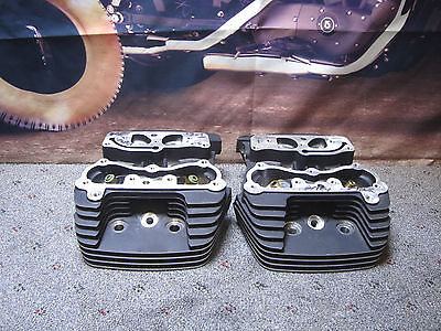 CYLINDER HEADS 1.9 Intakes Pair Ported By S&S  HARLEY Fits Twin Cam 2007 Up  Y7
