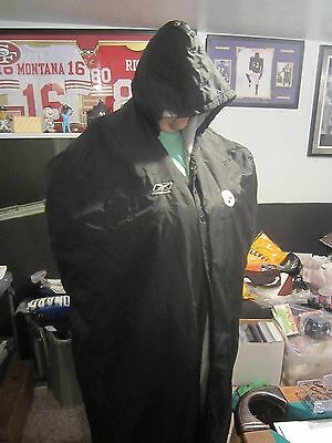 Pittsburgh Steelers Official Game Used / Worn Sideline Winter Player Parka