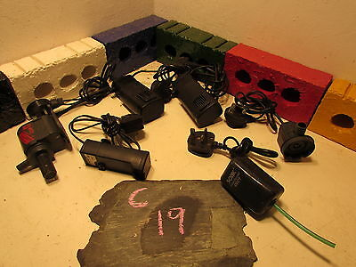 Job Lot Internal / external pumps for fish tanks. C 19