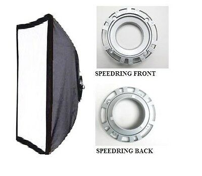 Softbox 70 x 140cm Made With Bowens Speed Ring Mount