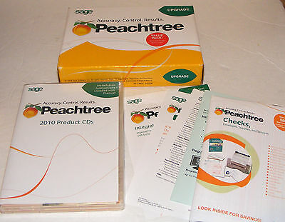 Peachtree 2010 Upgrade Version Complete accounting
