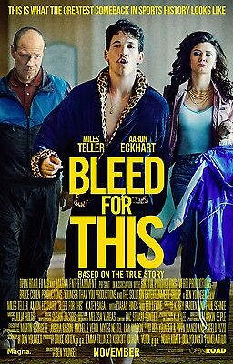 BLEED FOR THIS 11x17 PROMO MOVIE POSTER
