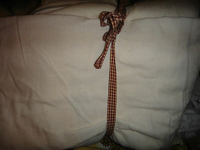 """2 vintage MATTRESS COVERS  w/ zippers 78"""" x 54"""" unused"""