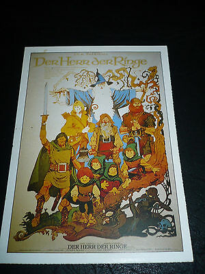 LORD OF THE RINGS, film card [Ralph Bakshi animation]