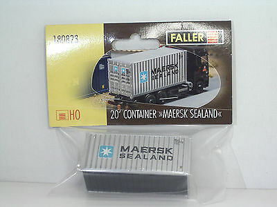 FALLER 180823 Container 20' MAERSK-SEALAND  H0 1:87