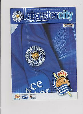 Leicester City v Real Sociedad 2005/06 Friendly