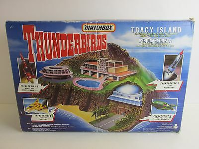 vintage THUNDERBIRDS TRACY ISLAND MATCHBOX version PLAYSET complete BOXED 778
