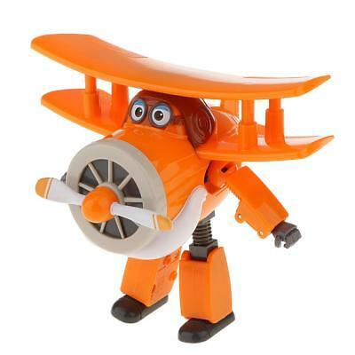 Super Wings Plastic LARGE Grand Albert Model Transforming Plane Toys Figure