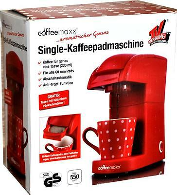 single kaffeemaschine by coffeemaxx schwarz edelstahl 600 w kaffeeautomat neu eur 10 50. Black Bedroom Furniture Sets. Home Design Ideas