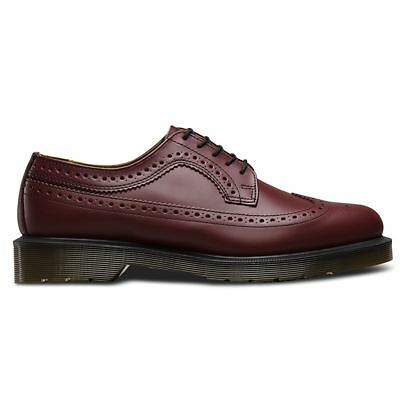 Dr.Martens 3989 5-Eyelets Smooth Rouge Cherry Mens Shoes