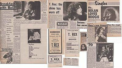 MARC BOLAN : CUTTINGS COLLECTION -1970s-