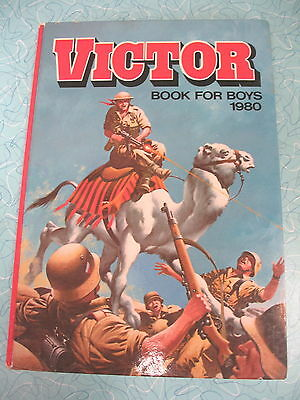 D C Thomson     The Victor Book For Boys 1980