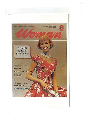 Cover of 'Woman',1956.Nostalgia Postcard.