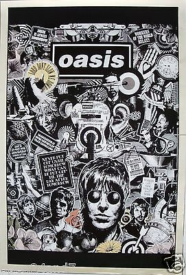 """Oasis """"drawing Of The Band & Quotes - Vertical Version"""" Poster From Asia"""