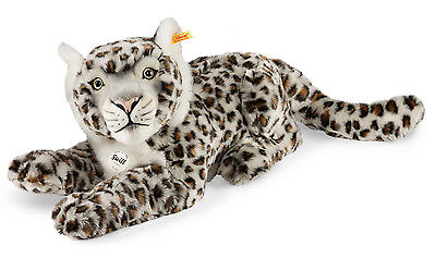 Steiff Paddy Snow Leopard cuddly, washable & collectable soft toy - EAN 061684