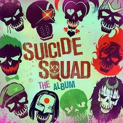 Suicide Squad : The Album - Double Vinyl LP Etched on Side 4