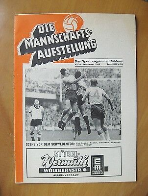 NURNBURG v EVERTON Fairs Cup 1965/1966 *Excellent Condition Football Programme*